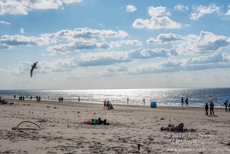 Jurmala Latvia Beach in June. Tamron 70mm lens