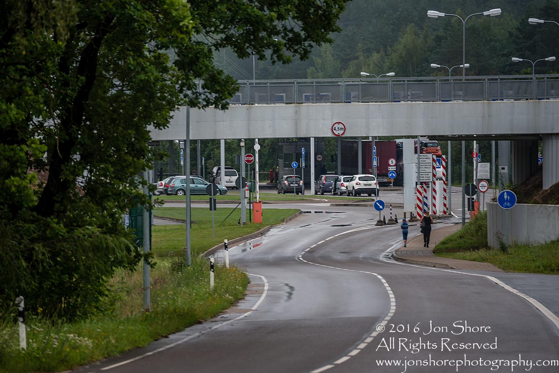 Estonian Russian border