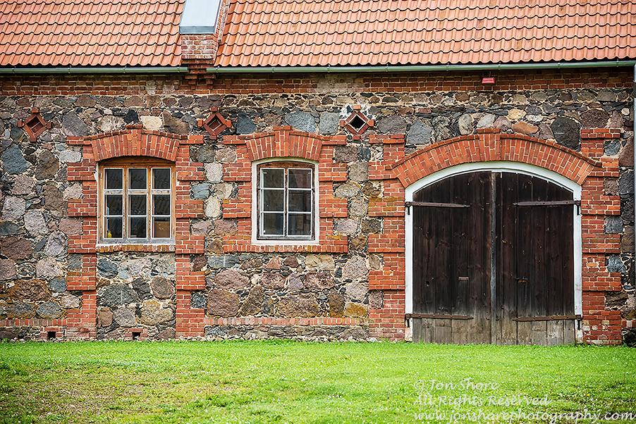 Stone and Brick Farm in Mooste Estonia.