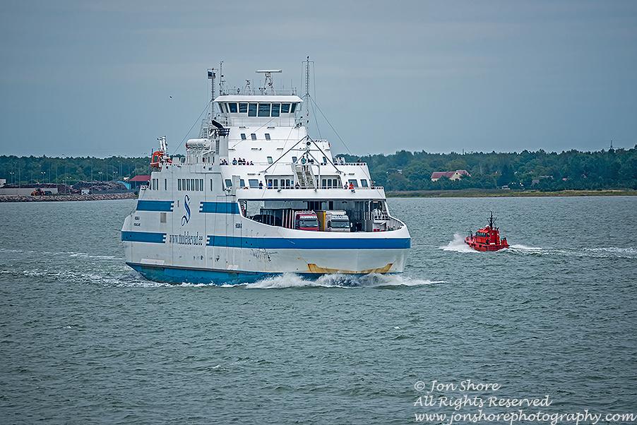 Ferry Saaremaa Estonia
