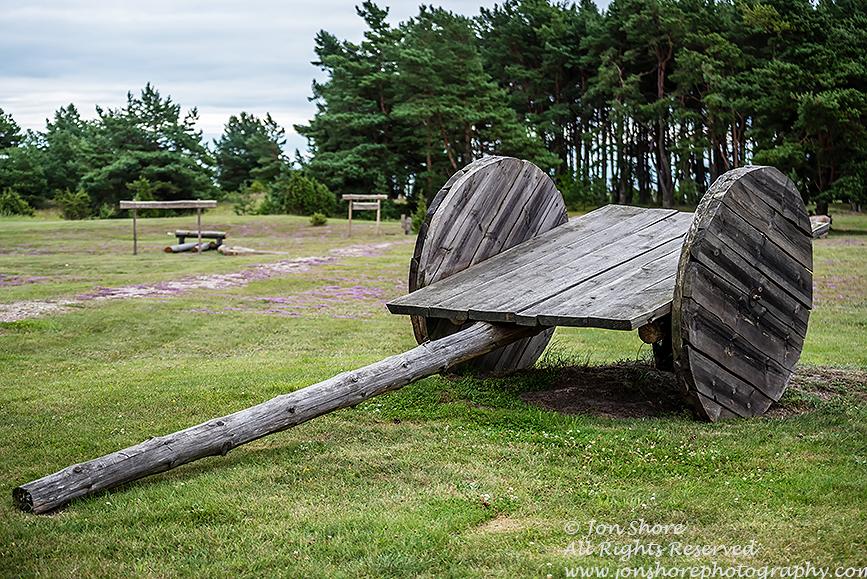 Old wagon copy in Estonia.