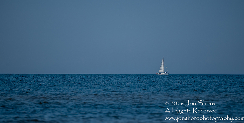 Sailboat on Baltic Sea. Tamron 600mm