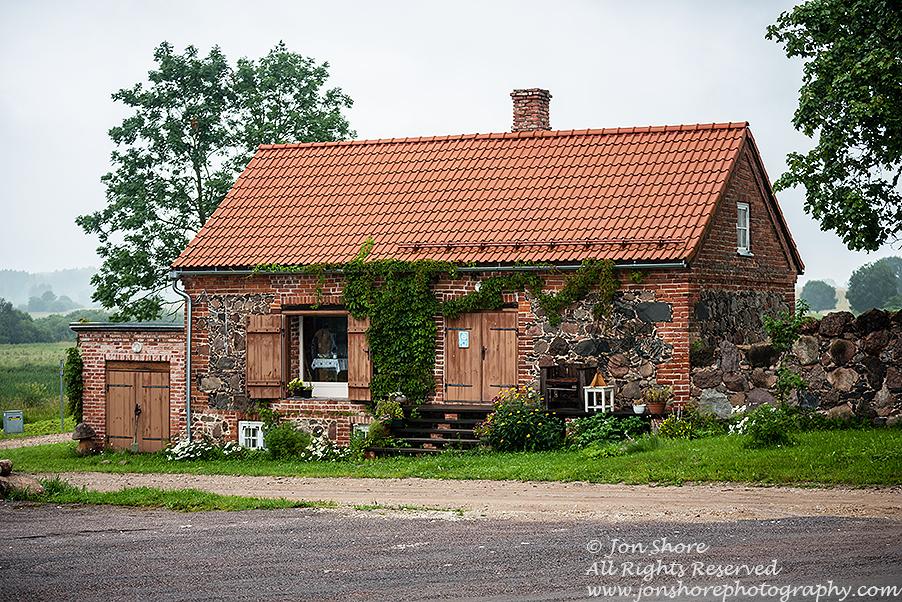 Old stone house, Mooste, Estonia