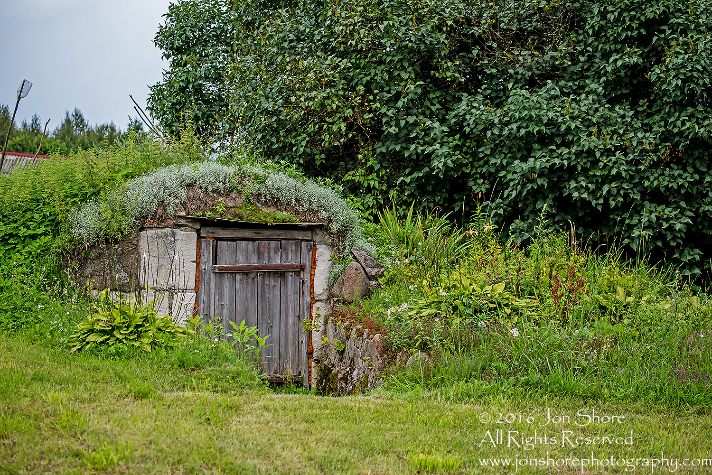 Hobbit House, Root Cellar, Latgale, Latvia. Tamron 200mm