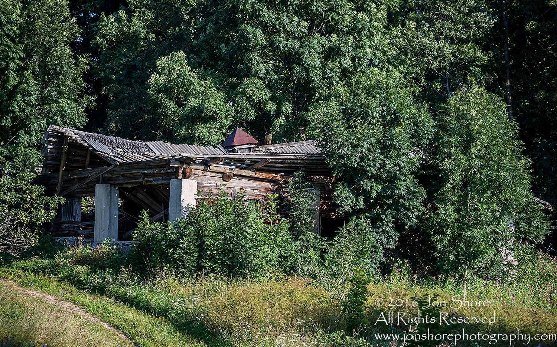 Old house Latgale, Latvia. Tamron 200mm