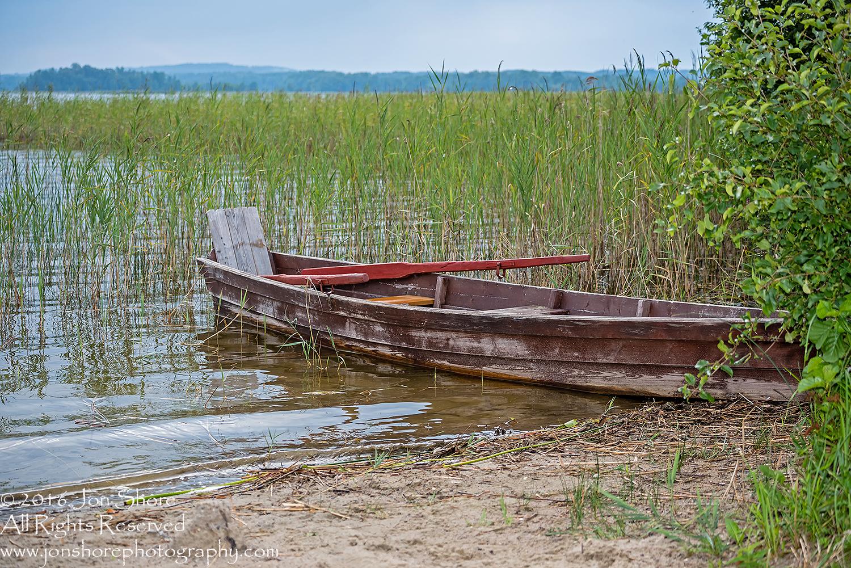 Row Boat. Latgale, Latvia. Tamron 100mm