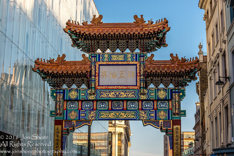 Chinatown Arch, London, UK Tamron 70mm Lens