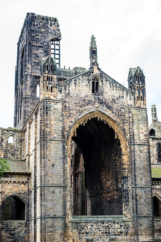Kirkstall Abbey, Leeds, UK - Nikkor 50mm lens