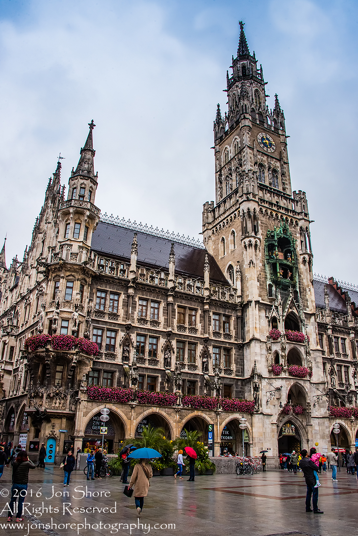 Munich City Hall. Nikkor 28mm