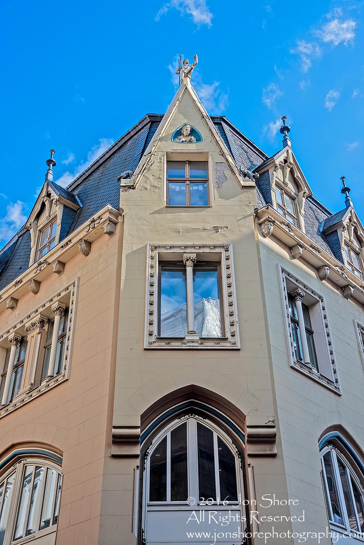 Old Town Riga Latvia. Nikkor 28mm