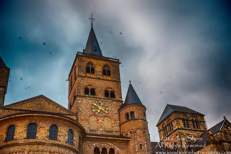 Cathedral, Trier, Germany. Nikkor 200mm