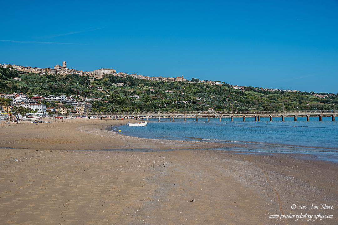 Beach at Vasto, Italy.