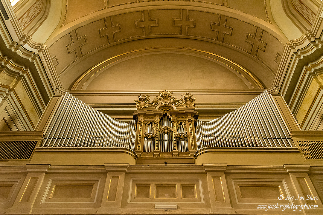 Church organ Vasto Italy