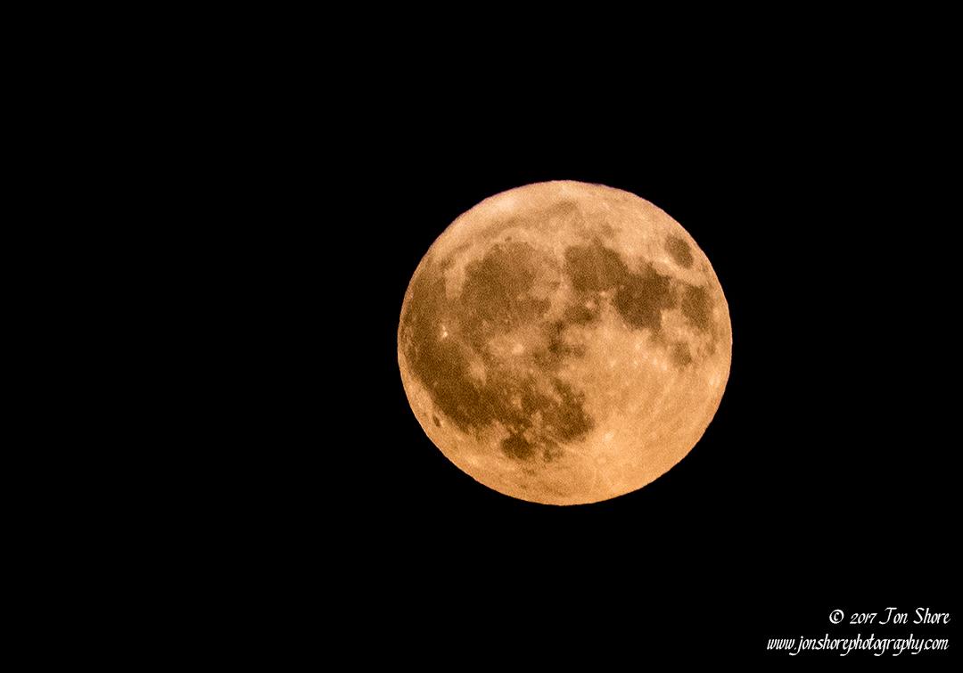 Full Moon Vasto Italy