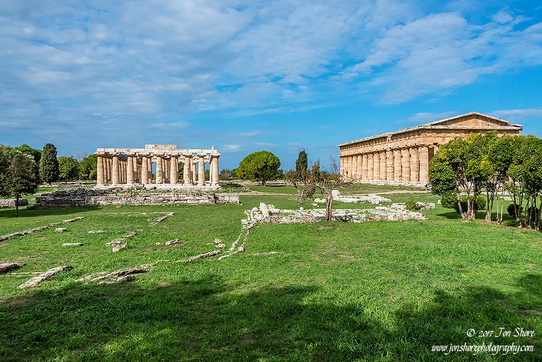 Paestum Italy September 2017 by Jon Shore