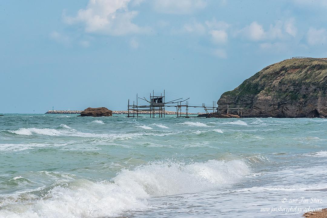Fishing platform Vasto Italy