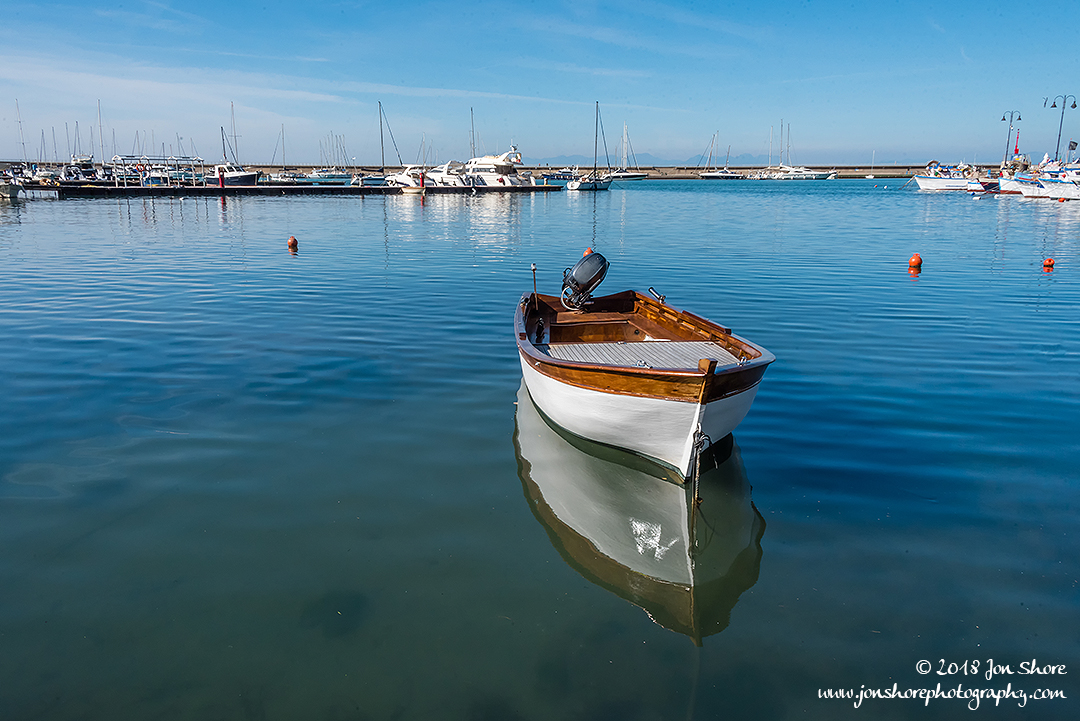 Boat Agropoli Italy February 2018