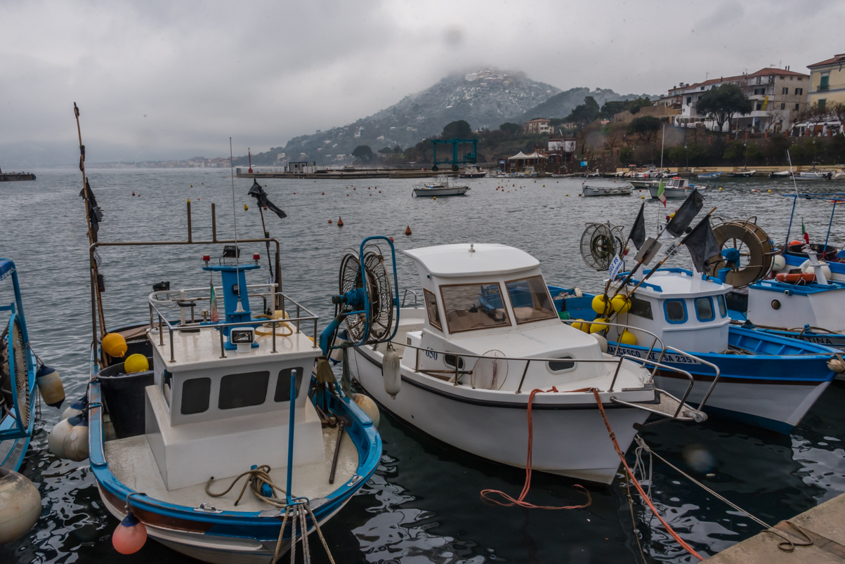 Port San Marco Di Castellabate Italy February 2018