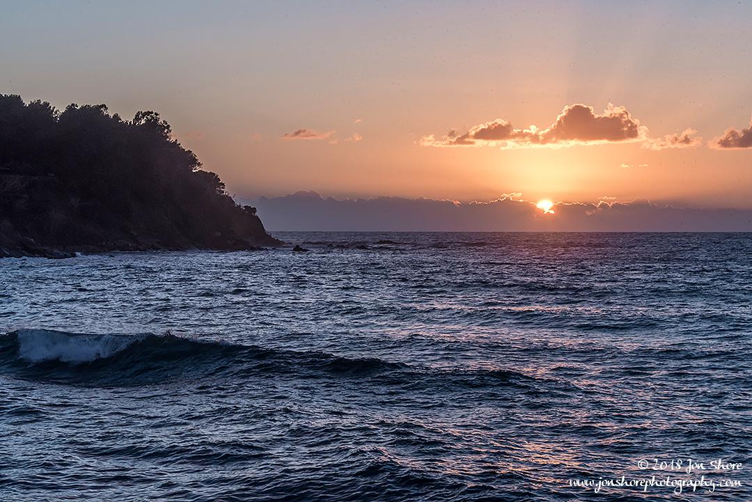 Sunset San Marco di Castellabate Italy