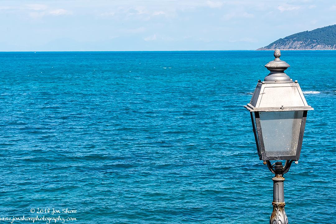 Lamp post San Marco di Castellabate Cilento Italy
