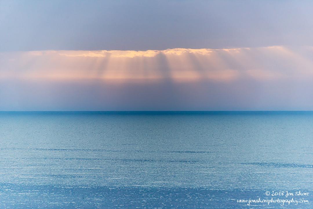 Light over the Mediterranean. Spring Italy