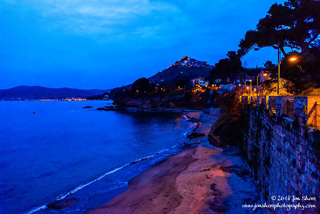 Night at San Marco di Castellabate Italy