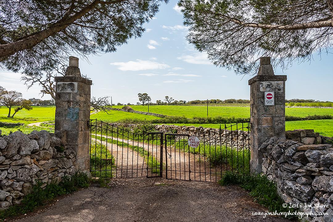 Gate Spring Pugliia Italy