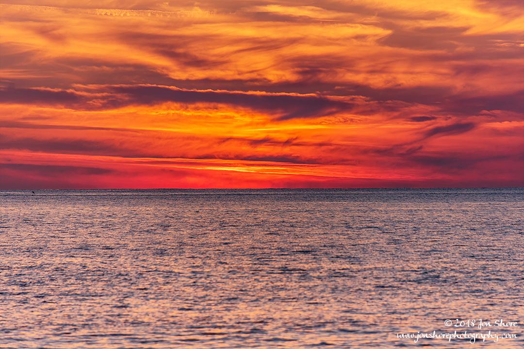 Sunset San Marco di Castellabate Cilento Italy