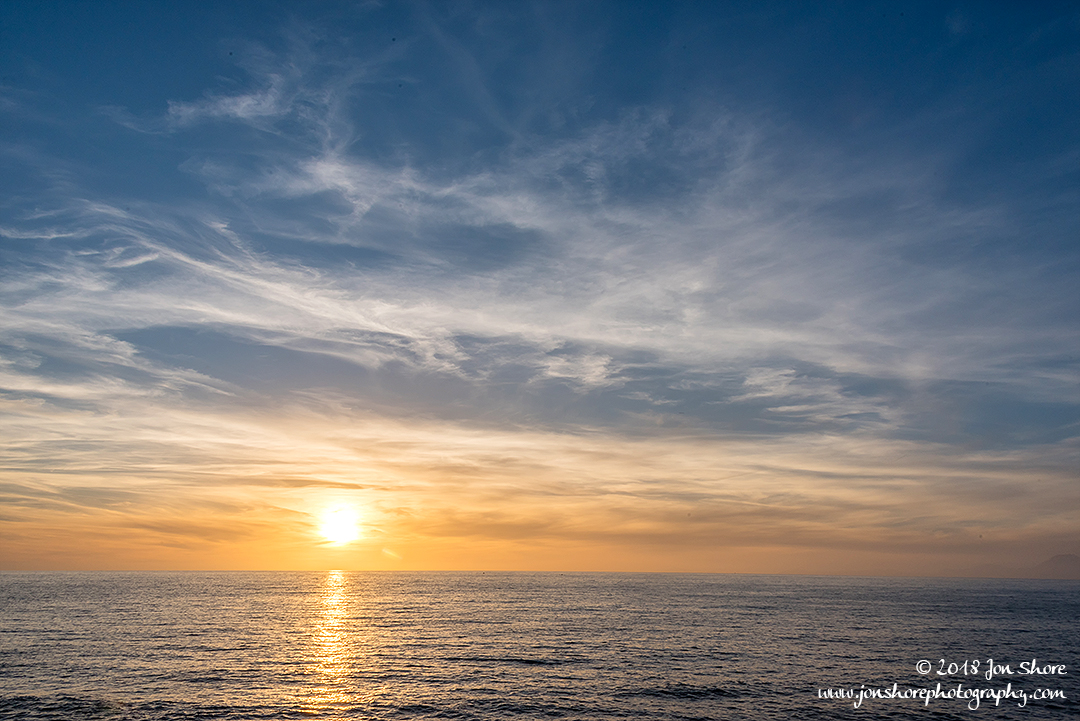 Sunset Spring San Marco di Castellabate Italy