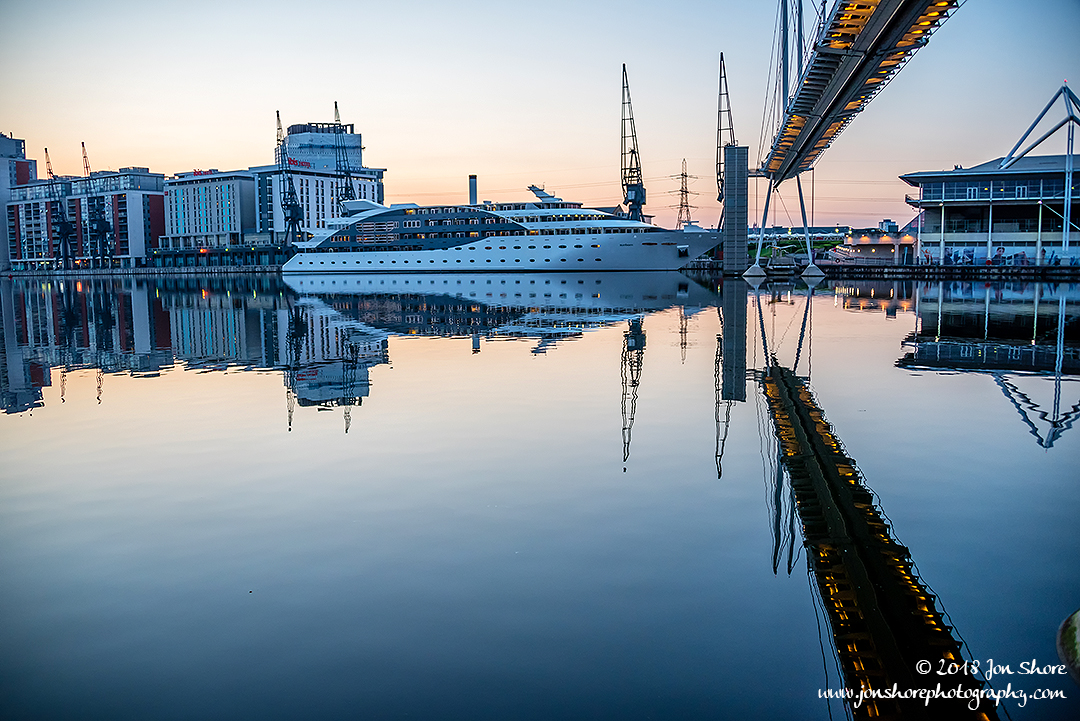 London Docklands Reflections