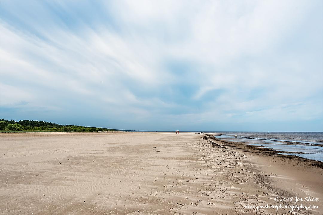 Jurmala Beach Latvia June 2018