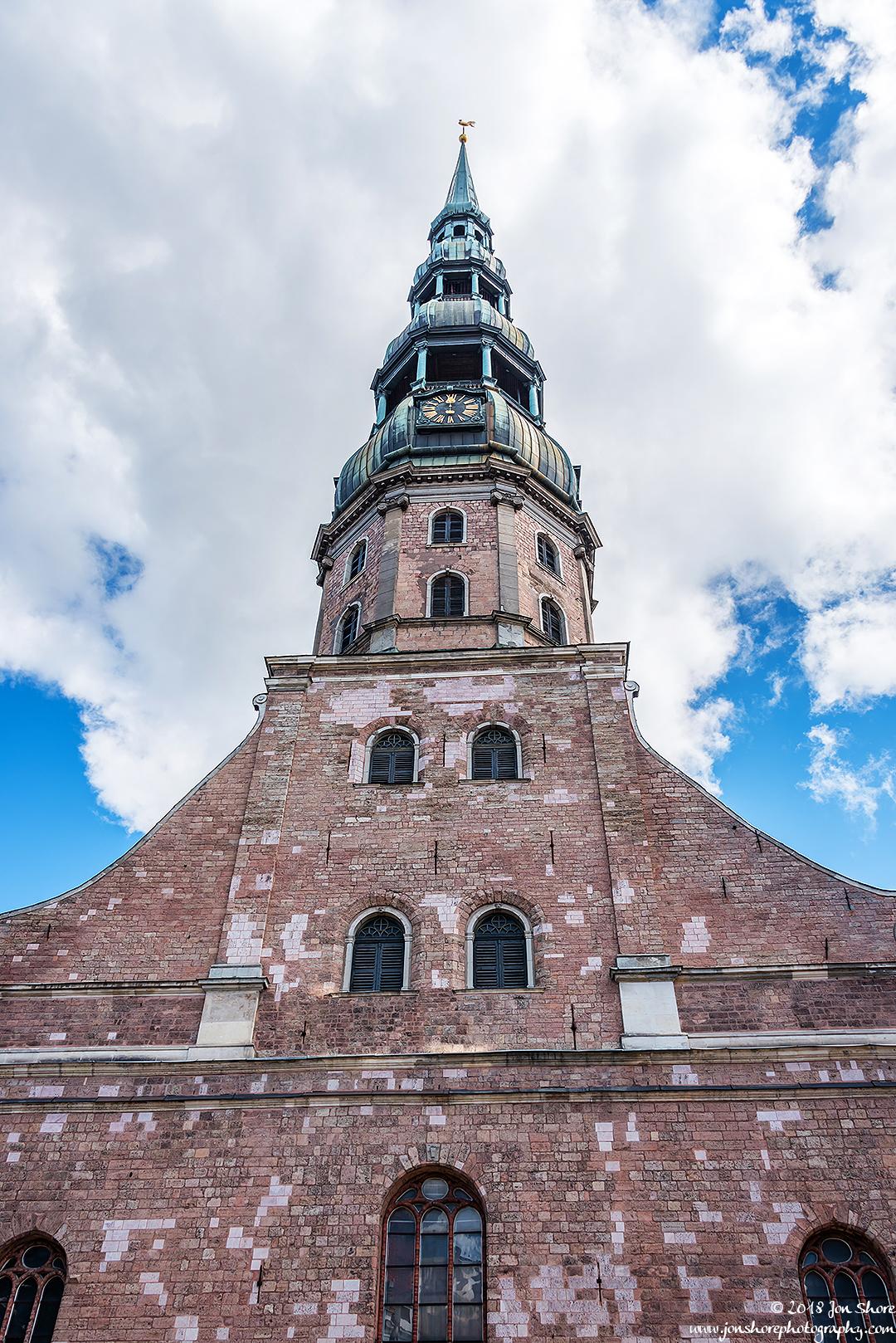 Riga church Latvia July 2018