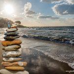 Stone stack San Marco di Castellabate Cilento Italy December 2017 by Jon Shore 72dpi-6650