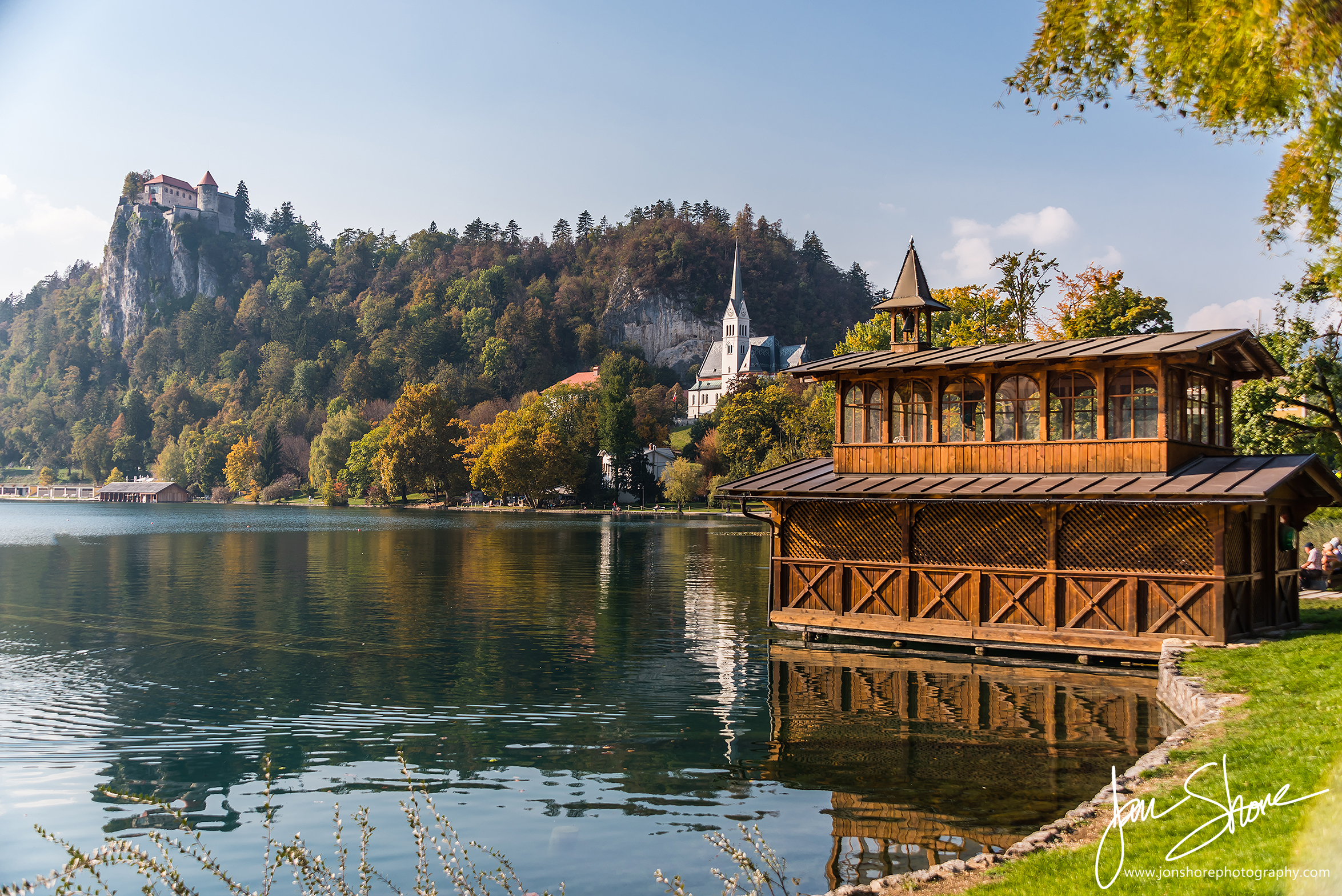 Lake Bled Slovenia October