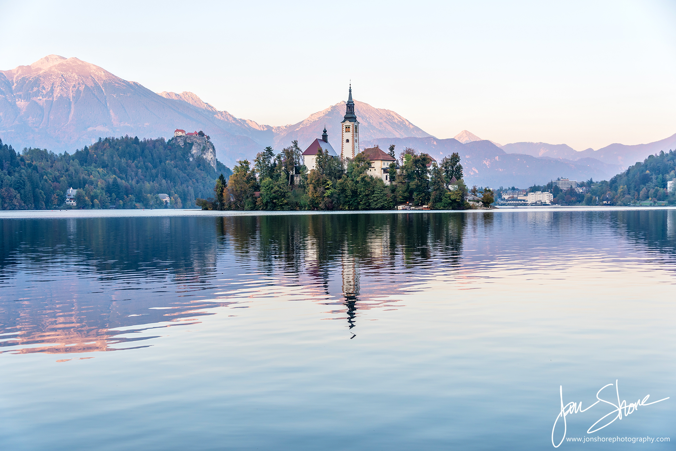 Lake Bled Slovenia October