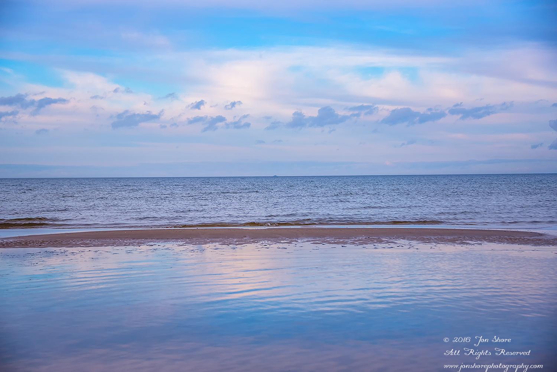 Jurmala Latvia winter beach. Nikkor 28mm