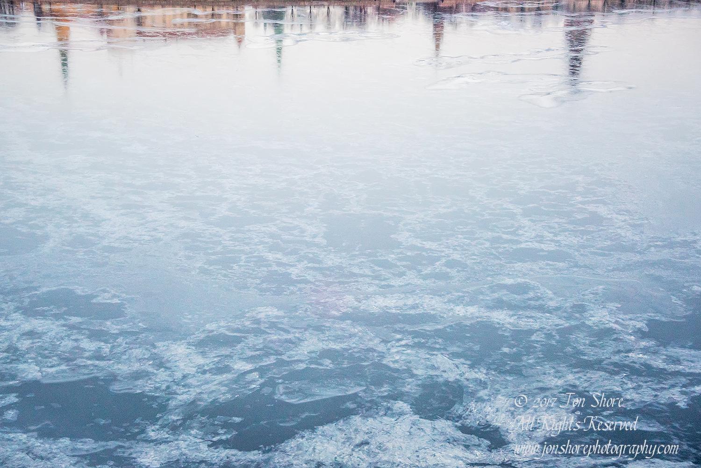 City in Ice, Riga, Latvia. Nikkor 100mm