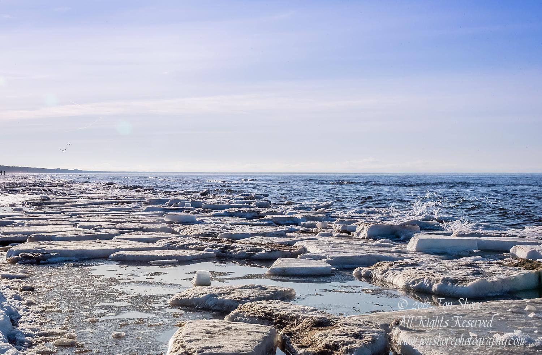 Lielupe Beach in Winter. Nikkor 35mm