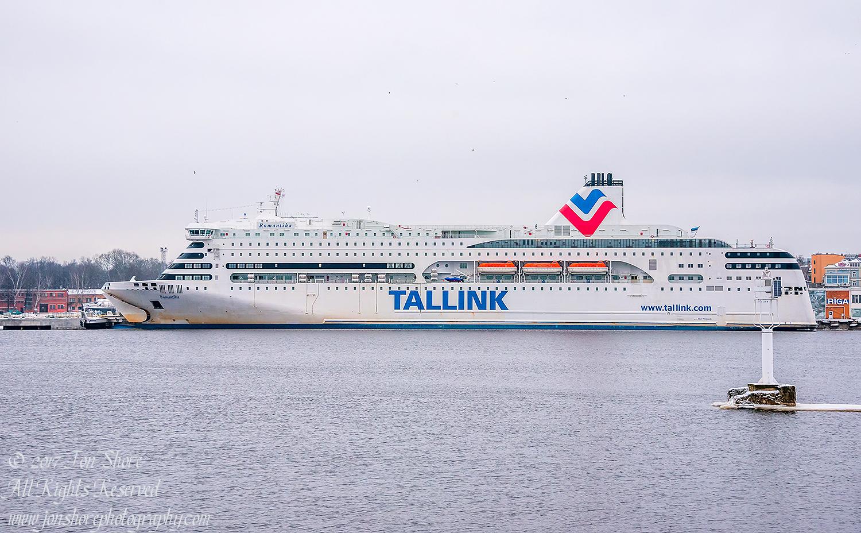 Tallink Ferry Latvia Winter January. Nikkor 200mm