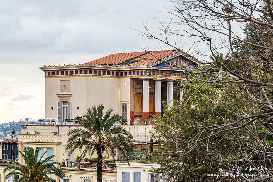 Berlusconi house Naples Italy January 2018