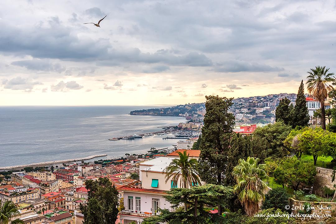 Naples Italy January 2018
