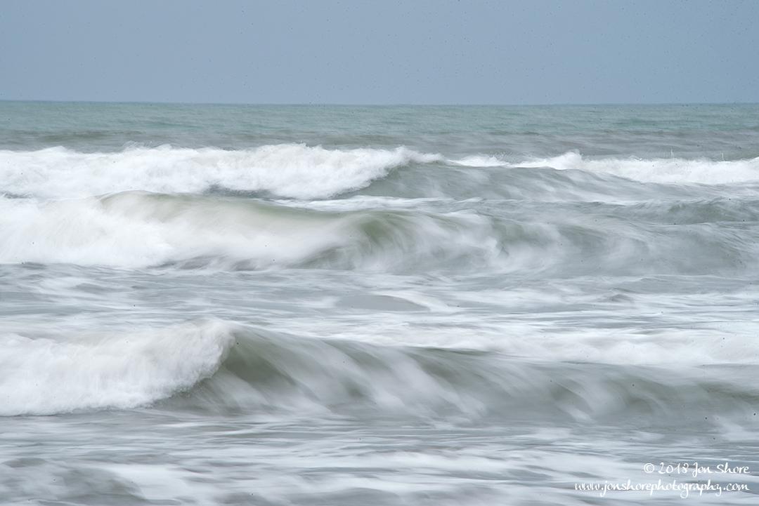 Waves Long Exposure San Marco Cilento Italy March 2018